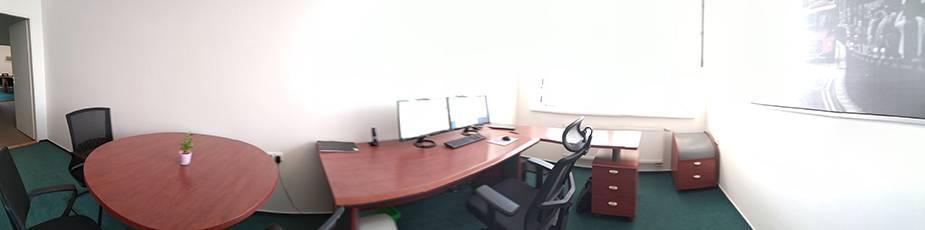 Panorama - kancelář ZŘ: VJ